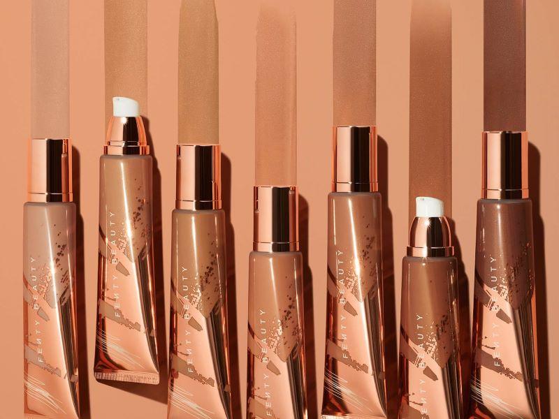 Objectif glow avec «Body Sauce», le nouvel illuminateur Fenty Beauty