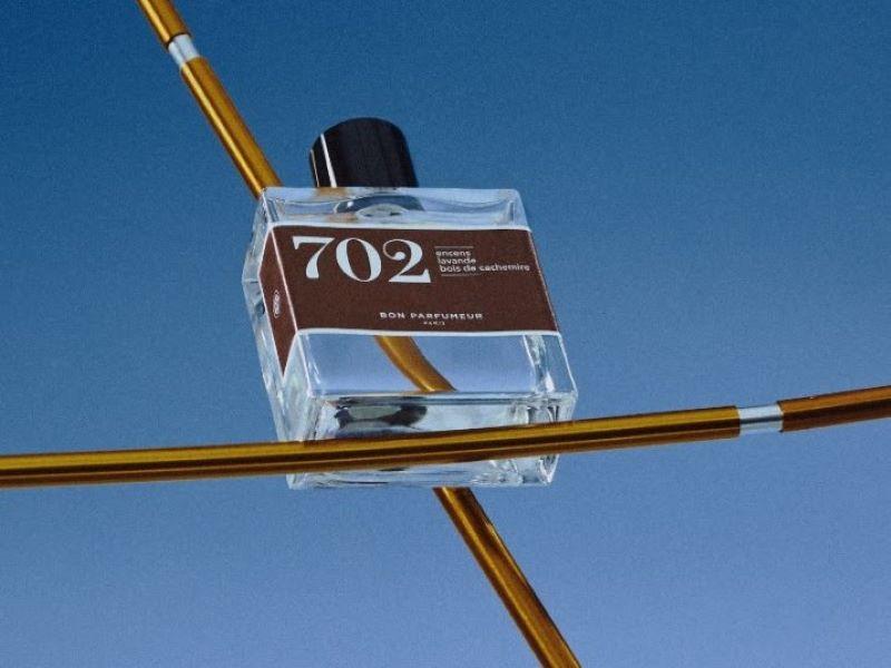 Fougère & encens pour 702, le nouveau parfum de Bon Parfumeur