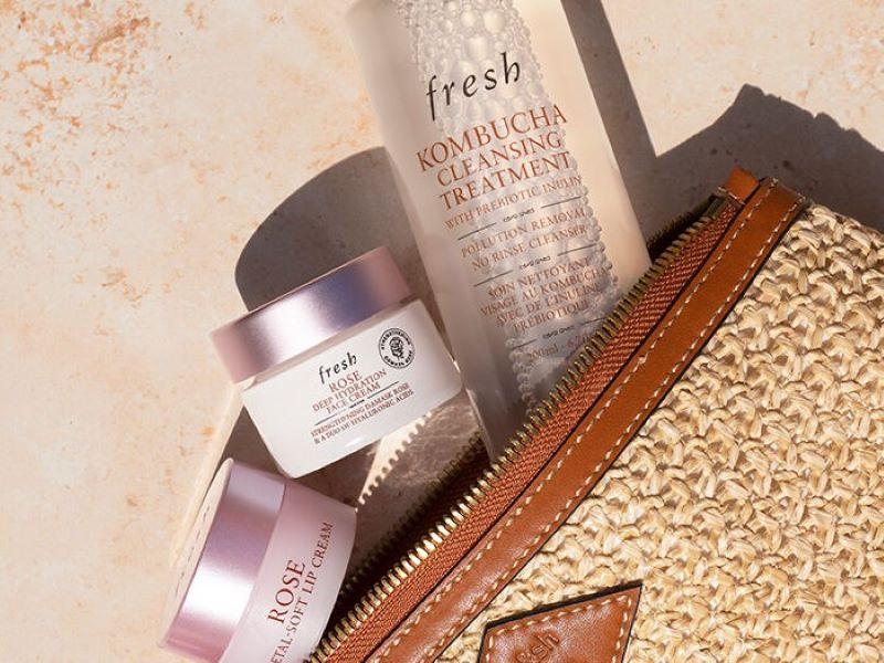 Collaboration d'été : la trousse beauté & mode Fresh x ba&sh