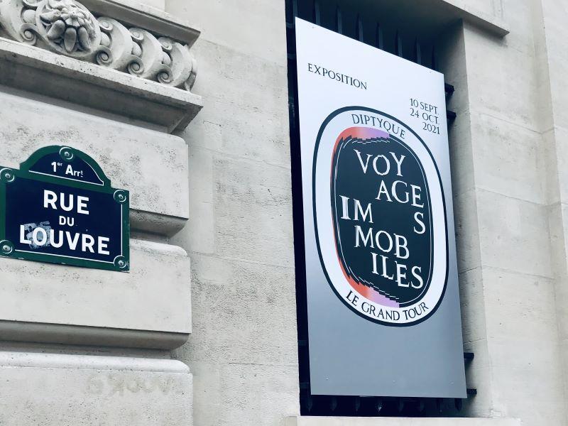 «Voyages Immobiles» : Diptyque invite à une déambulation artistique