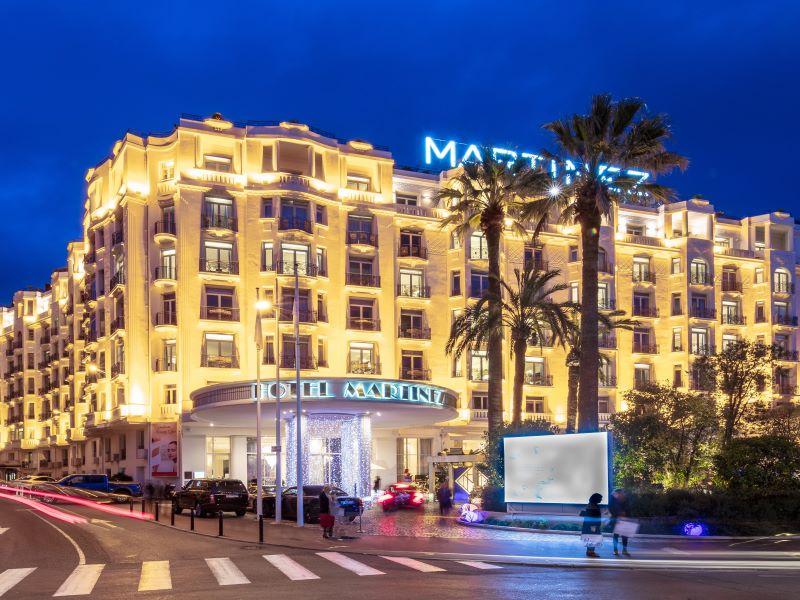 Le légendaire Hôtel Martinez, partenaire des Régates Royales à Cannes