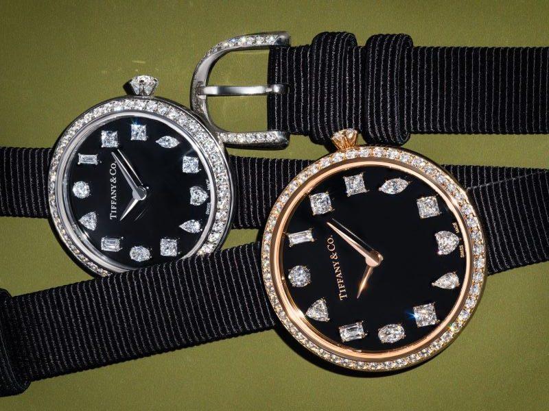 «Tiffany Eternity», la nouvelle montre aux douze diamants de Tiffany & Co.